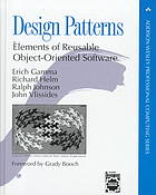 E. Gamma Design Patterns: Elements of Reusable Object-Oriented Software